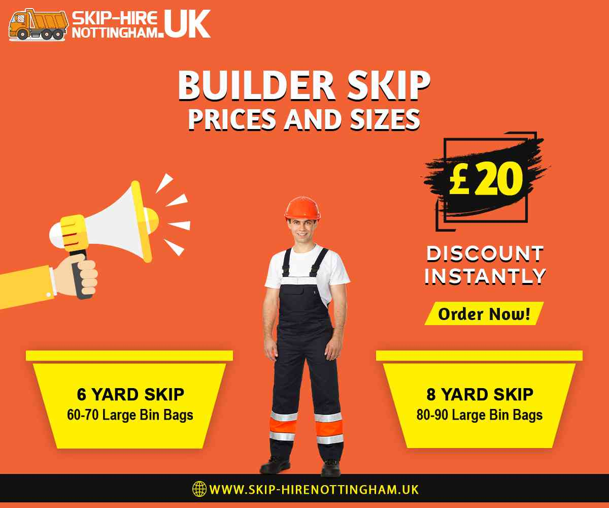 Builder Skip Hire Nottingham