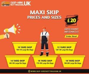 Maxi Skip Hire Nottingham