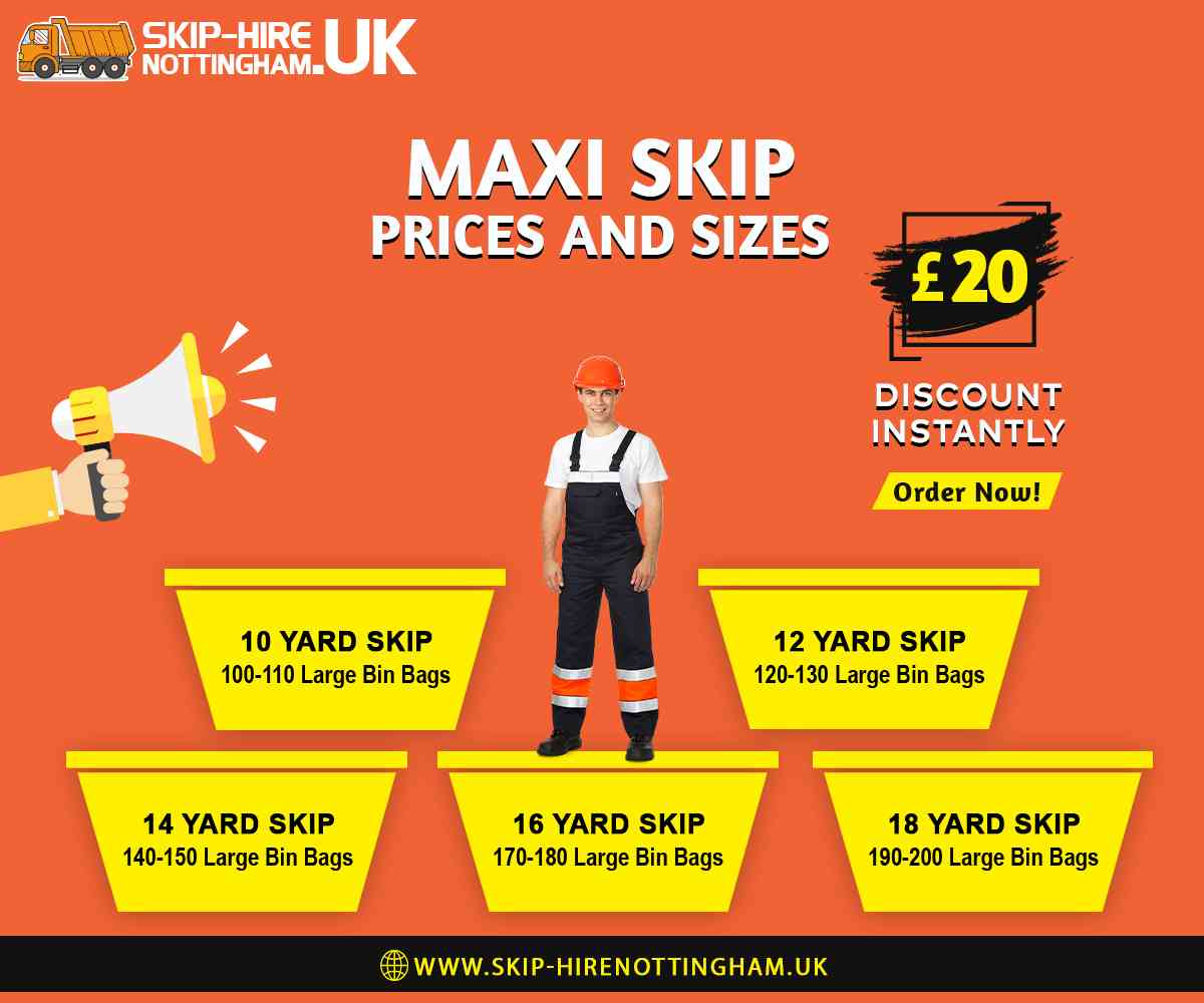 Maxi Skip Hire Nottingham