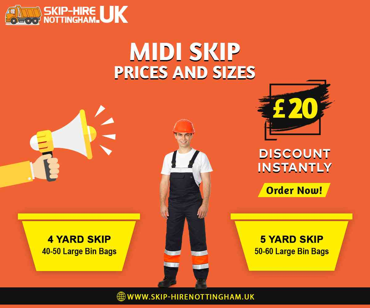 Midi Skip Hire Nottingham