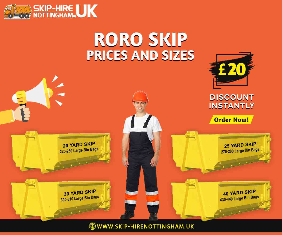 RORO Skip Hire Nottingham